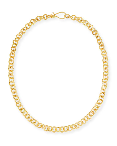 Hill Tribe Chain Necklace, 18""