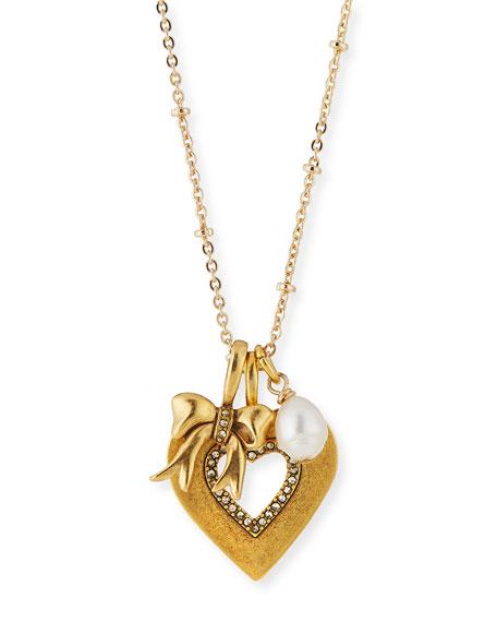 Heart Talisman Pendant Necklace