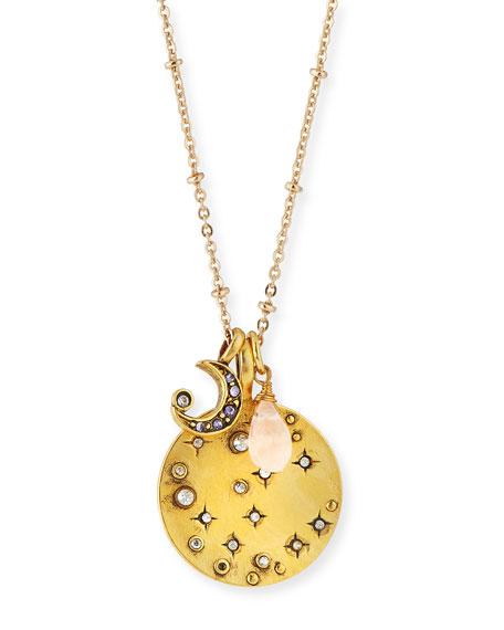 Celestial Talisman Pendant Necklace