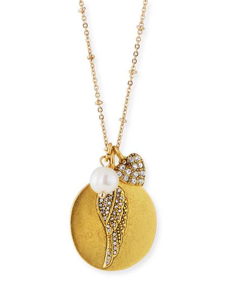 Angel Wing Talisman Pendant Necklace