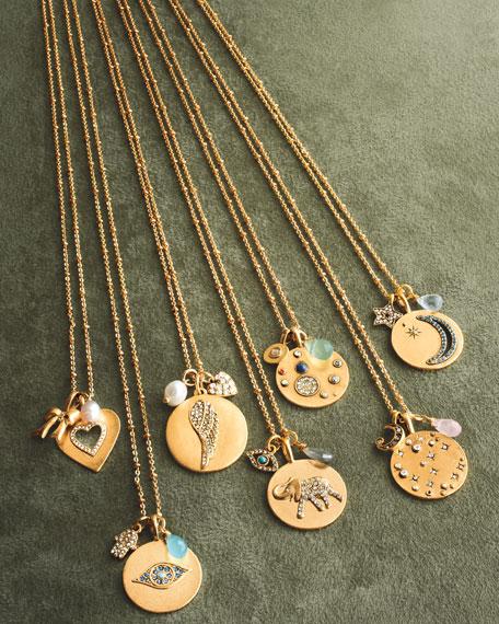 Elephant Talisman Pendant Necklace
