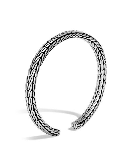 Classic Chain Slim Flex Cuff Bracelet