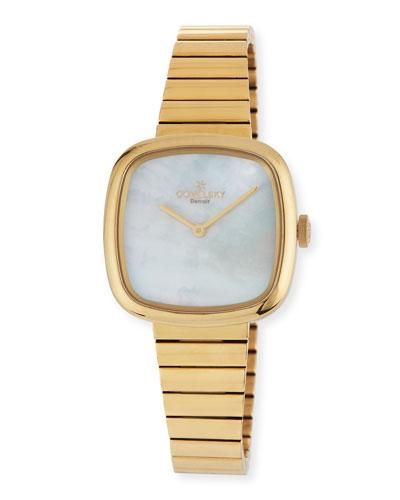 32mm Eppie Sneed Golden PVD Bracelet Watch