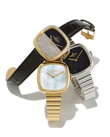 Gomelsky 32mm Eppie Stainless Steel Bracelet Watch