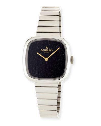 32mm Eppie Sneed Stainless Steel Bracelet Watch