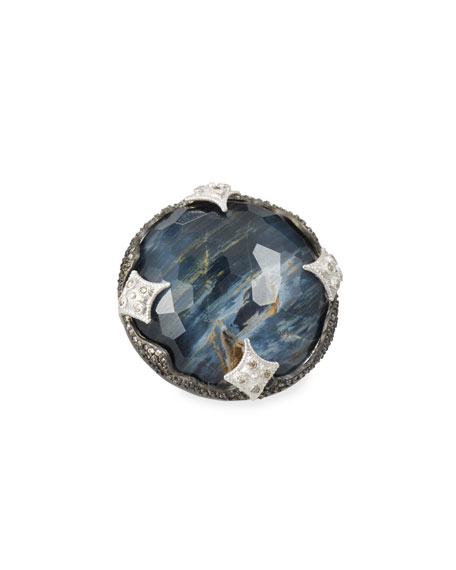 Armenta New World Scalloped Doublet Ring llm8o