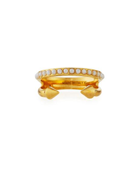 Ultra Mini Titan Crystal Ring