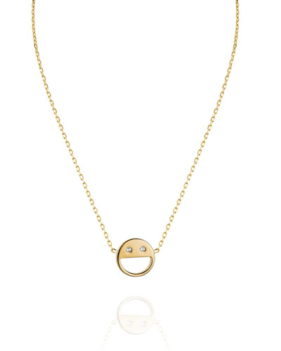 Sorriso Smiley Face Necklace