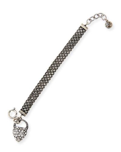 Nina Crystal Charm Bracelet