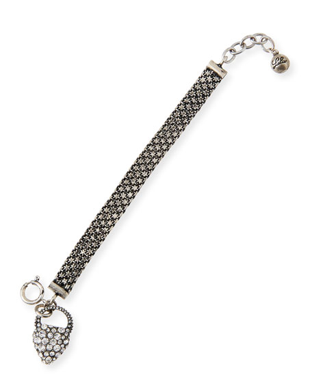 Lulu Frost Nina Crystal Charm Bracelet
