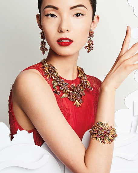Pavé Crystal Garland Bracelet