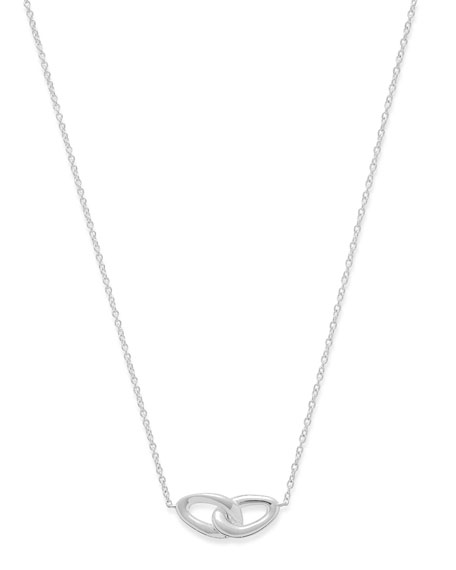 Sterling Silver Cherish Link Necklace