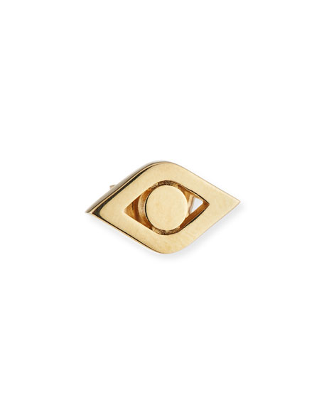 Sydney Evan 14k Medium Pure Eye Single Stud