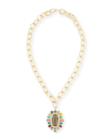 Kendra Scott Shanda Crystal Statement Necklace