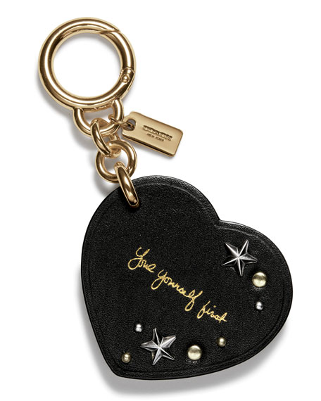 Coach Selena Heart Charm for Handbag