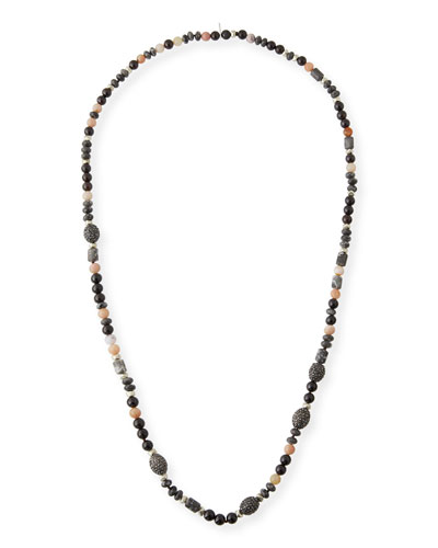 Amy Beaded Long Necklace