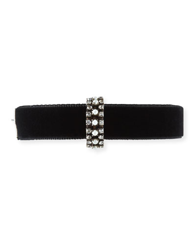 Tavi Velvet Choker Necklace