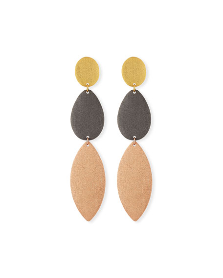 Stephanie Kantis Enchantment Three-Drop Earrings