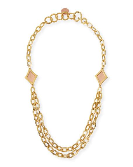 Stephanie Kantis Illumination Link Statement Necklace