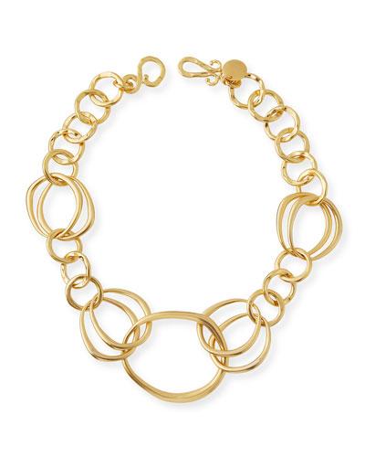 Riverbed Link Necklace