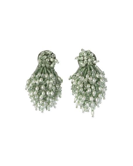 Mignonne Gavigan Burst Beaded Statement Earrings