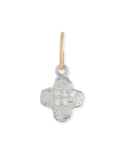 Old Money Cruz Single Earring with Crystals