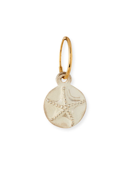 Starfish Coin Single Earring