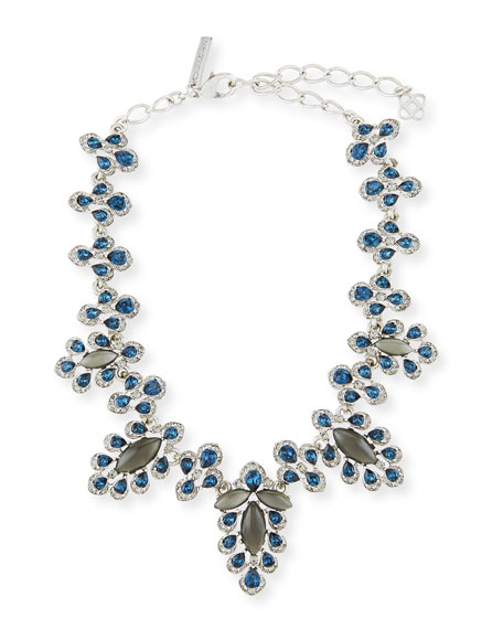 Oscar de la Renta Parlor Crystal Statement Necklace