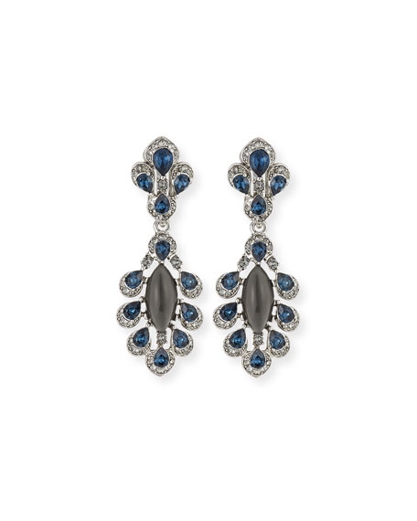 Parlor Crystal Drop Earrings