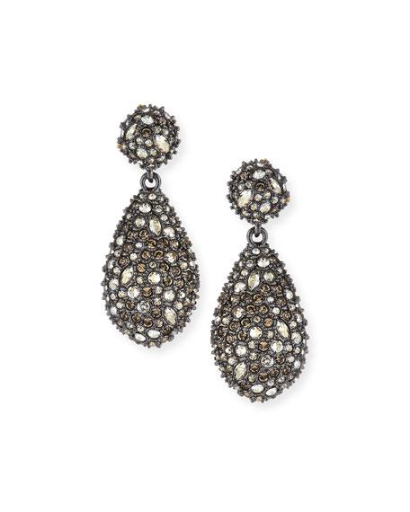 Alexis Bittar Pav?? Teardrop Crystal Earrings