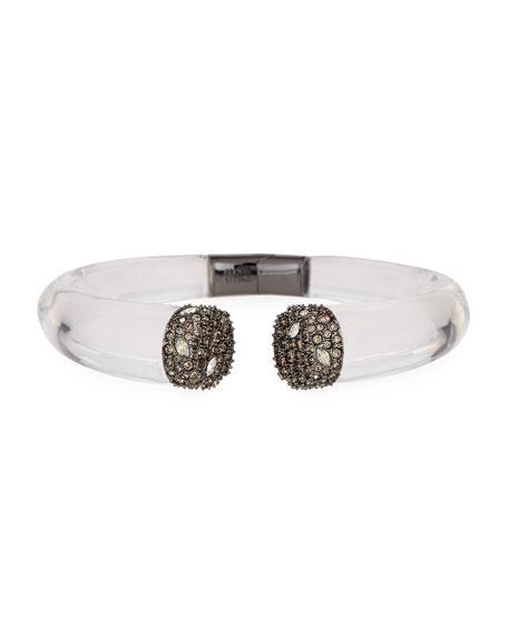 Alexis Bittar Encrusted Pavé Crystal Cuff Bracelet