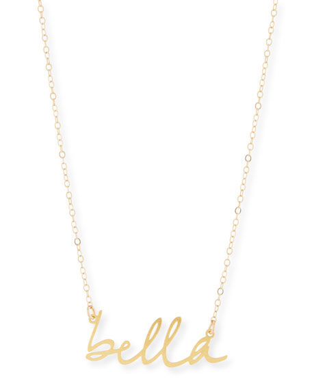 Bella Small Pendant Necklace