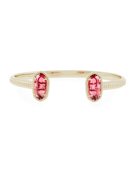 Elton Statement Bracelet, Red