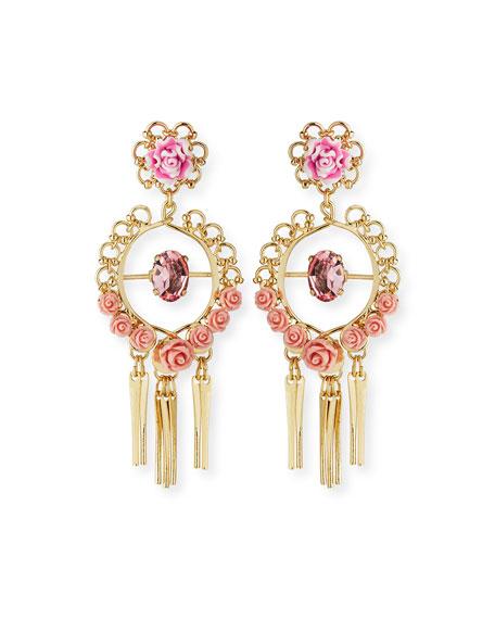 Dannijo Samara Golden Statement Earrings eQgY610GC