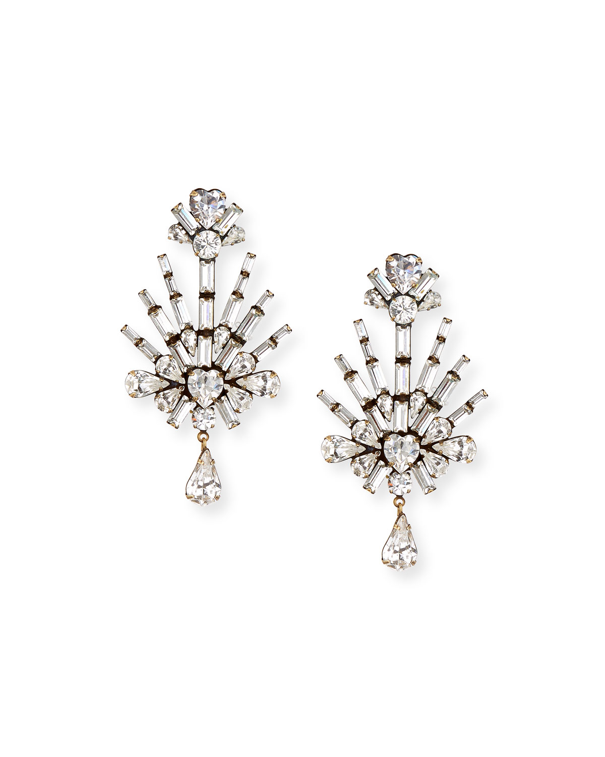 Auden Lilith Crystal Statement Earrings