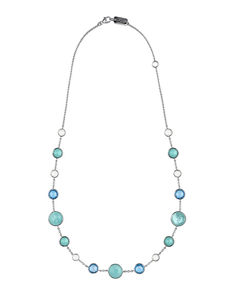 Ippolita Lollitini Sterling Silver Necklace in Eclipse, 16