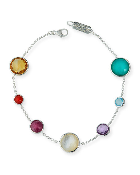 Ippolita Lollipop 7-Station Bracelet in Eclipse