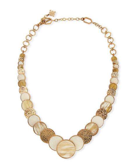 Akola Large Circle Necklace