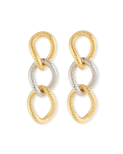 Raffina Link Drop Earrings