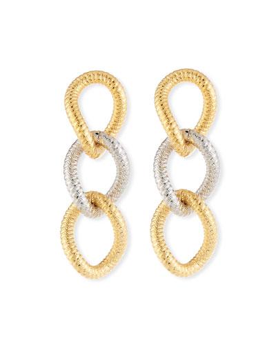 Raffina Link Drop Earrings