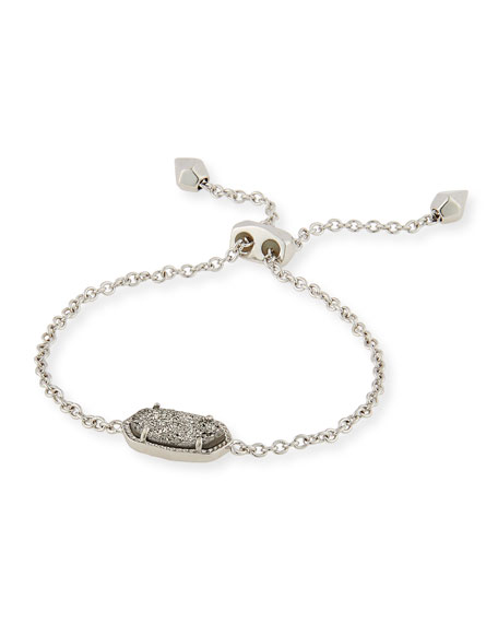Kendra Scott Elaina Druzy-Station Adjustable Bracelet