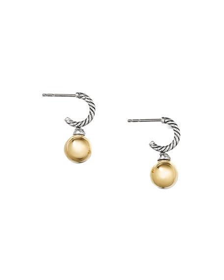 David Yurman 18k Solari Drop Earrings w/ Diamonds