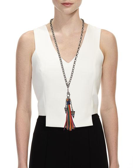 Azalea Tassel Chain Necklace