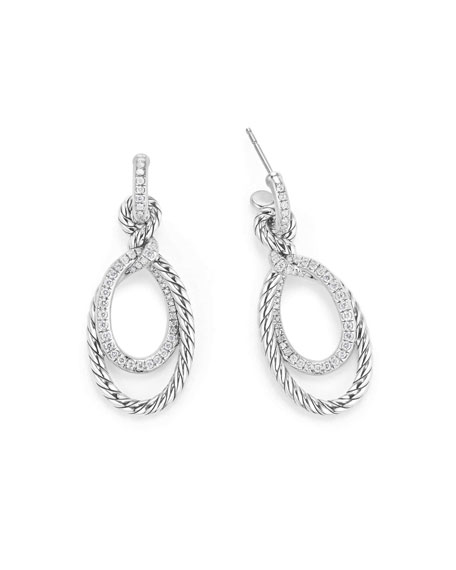 Continuance Diamond Drop Link Earrings