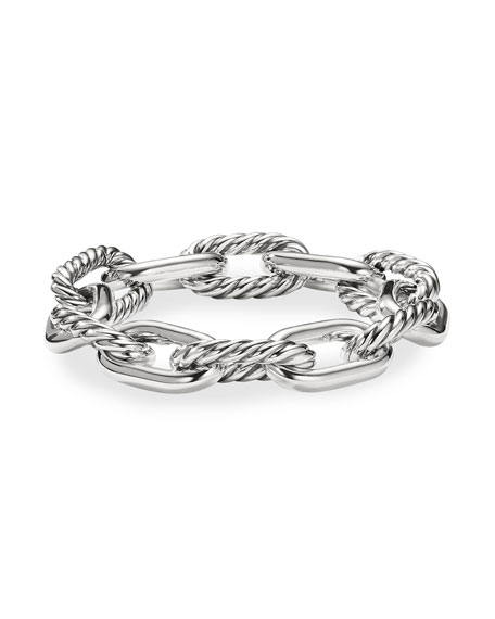 David Yurman Madison Women S Large Chain Link Bracelet 13 5mm In Silver