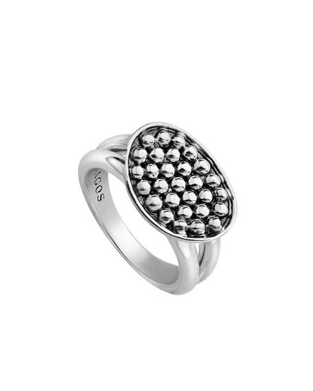 Signature Caviar Horizontal Eclipse Ring