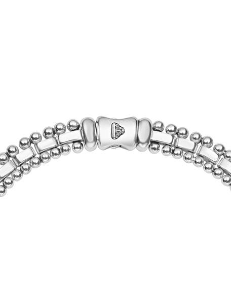 LAGOS Caviar Spark Diamond Collar Necklace