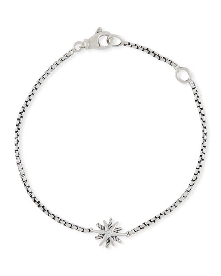 David Yurman Kid's Starburst Diamond Bracelet