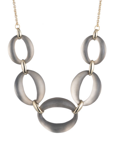 Large Lucite® Link Necklace  16