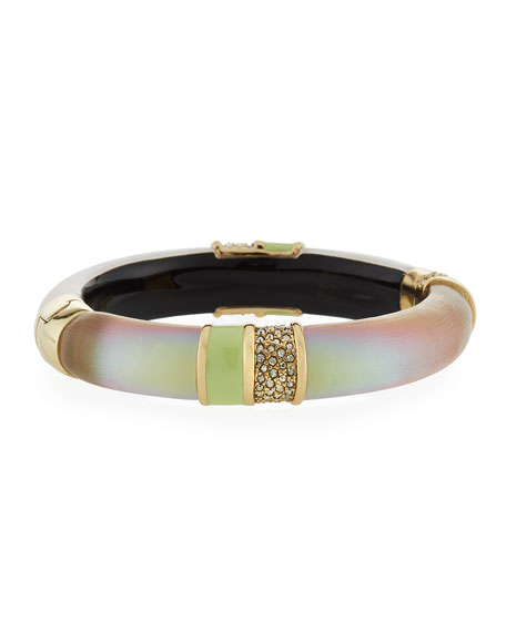 Alexis Bittar Crystal Encrusted Segmented Bracelet